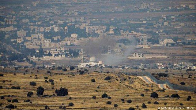 Ізраїль обстріляв територію Сирії десятками ракет