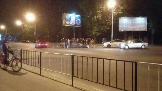 Унаслідок ДТП у Львові постраждав 29-річний мотоцикліст