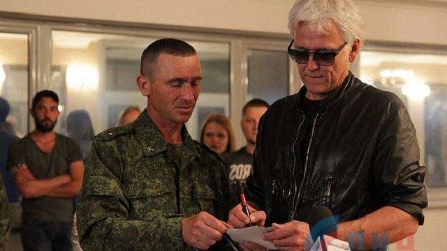 Російський співак Маршал заявив про готовність воювати разом із бойовиками на Донбасі