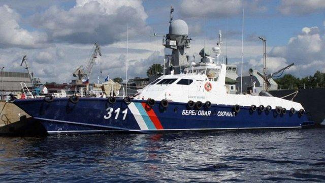 ФСБ Росії визнала затримання українських рибалок в Азовському морі
