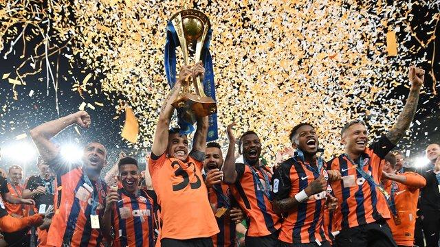 Визначилися футбольні клуби, які представлятимуть Україну в Лізі Чемпіонів та Лізі Європи