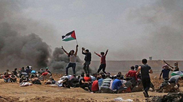 У зіткненнях на кордоні Ізраїлю і Сектора Гази загинуло понад 50 палестинців