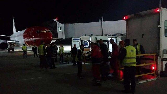 Через непритомну пасажирку у Львові здійснив вимушену посадку літак Norwegian