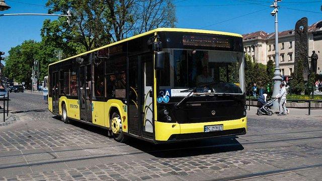 У львівських комунальних автобусах запрацює безкоштовний Wi-Fi