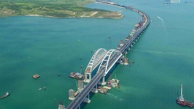 Євросоюз засудив часткове відкриття Керченського мосту