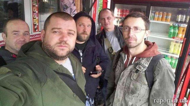 В Івано-Франківську ветерани провчили водія маршрутки, який нахамив учасниці бойових дій