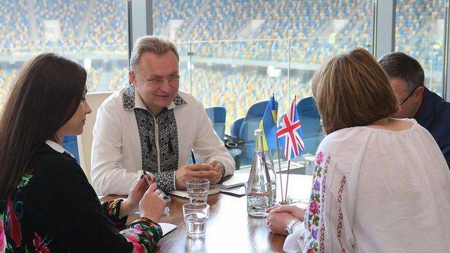 Андрій Садовий обговорив небезпеку «Північного Потоку-2» з європейськими дипломатами