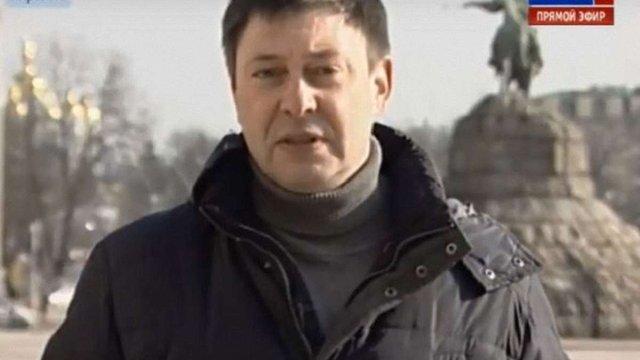 Суд арештував підозрюваного у держзраді керівника «РИА Новости Украина»