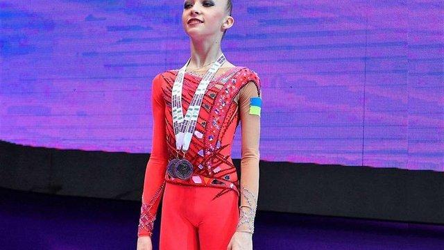 Гімнастка Христина Погранична здобула п'ять медалей міжнародного турніру в Ізраїлі