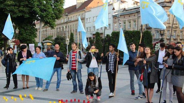 У Львові розпочалися акції вшанування жертв депортації кримськотатарського народу