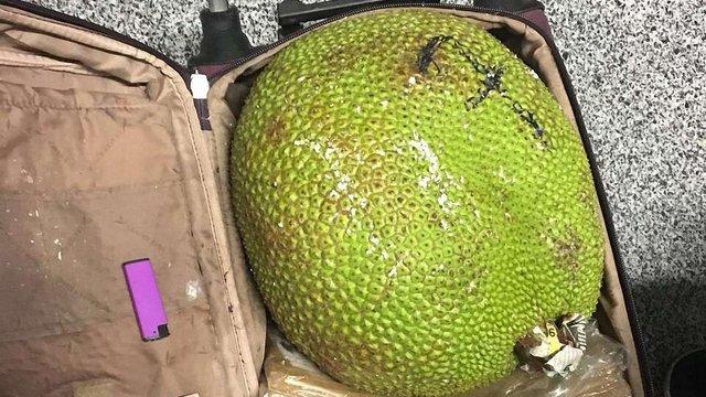 Прикордонники затримали контрабандиста екзотичних фруктів