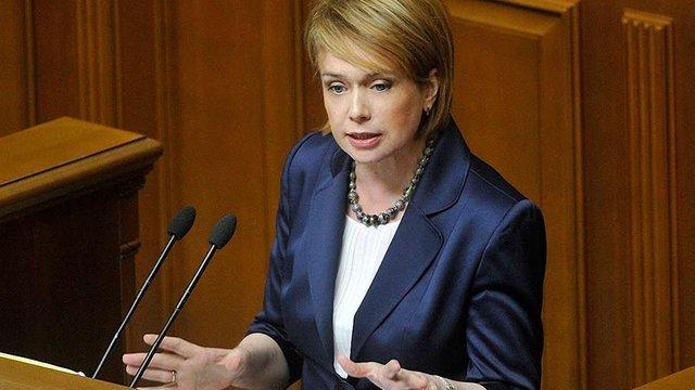 Лілія Гриневич заявила про неприпустимість тестування майбутніх першокласників