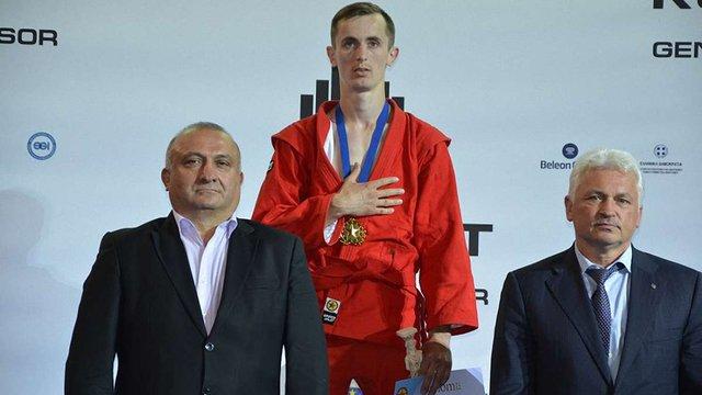 Українські спортсмени здобули сім медалей у перший день на чемпіонаті Європи з самбо