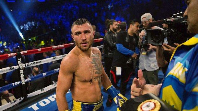 Василя Ломаченка визнали найкращим боксером світу за версією американського телеканалу ESPN