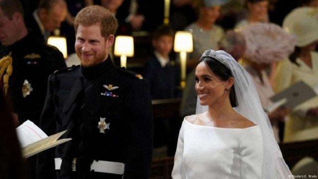 У Великій Британії принц Гаррі одружився з американською акторкою Меган Маркл
