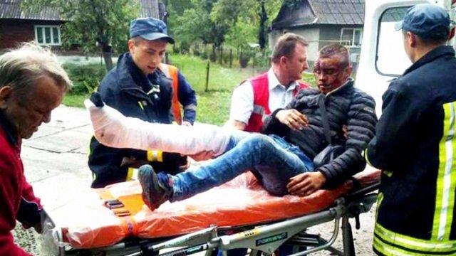 Хлопець, який вистрибнув з поїзда на Закарпатті, виявився крадієм