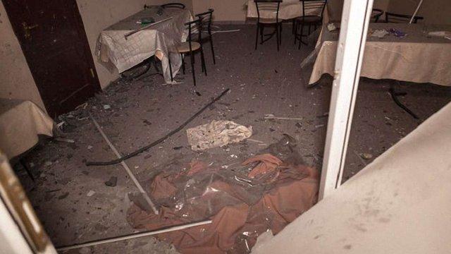 У Дніпрі на вході в кафе прогримів вибух