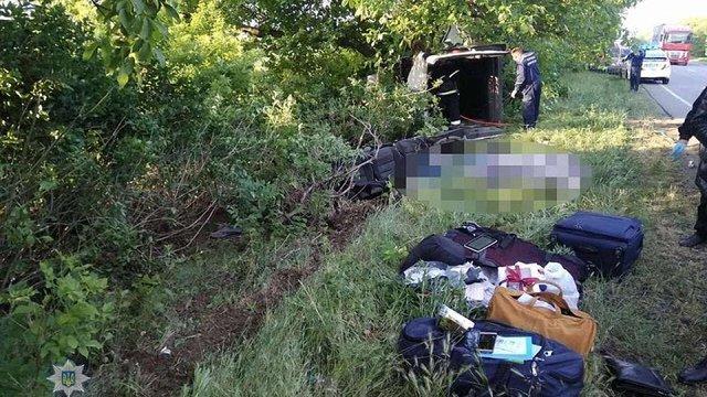 Внаслідок ДТП в Миколаївській області загинули п'ятеро людей