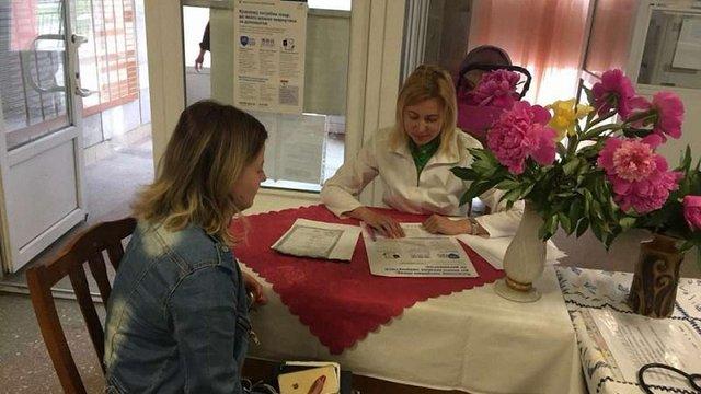 Для інформування про укладення декларацій з лікарями у Львові облаштували консультаційні пункти