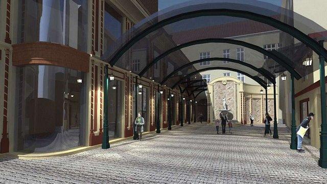 У центрі Львова планують відновити частину пасажу Міколяша