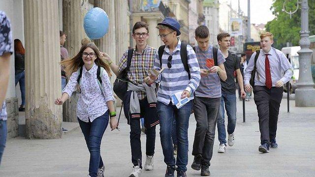 Для 10 шкільних команд у Львові організували квест  з фінансової грамотності