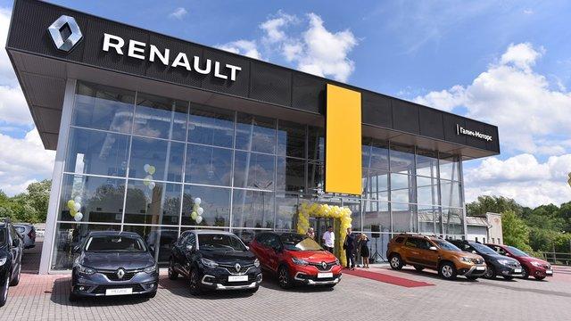 На вулиці Зеленій, 407 у Львові відкрився новий салон RENAULT