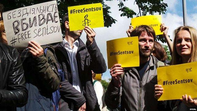 Принтцентр відмовився друкувати листівки на підтримку Сенцова через «політичний характер»