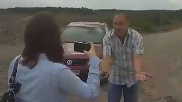 Журналісти «Львівського порталу» заявили про напад на них директора ЛКП «Збиранка»