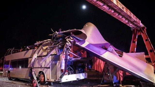 Автобус з українськими туристами потрапив у важку ДТП в Будапешті