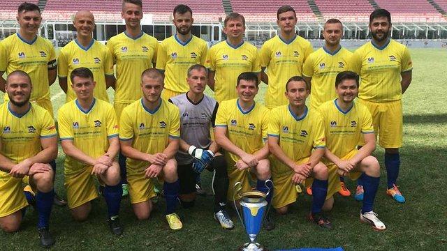 Українці перемогли на Чемпіонаті Європи з футболу серед священиків