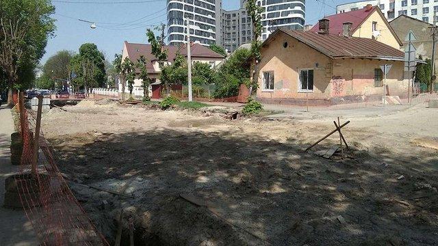 Наступного тижня у Львові планують відновити ремонт вул. Замарстинівської