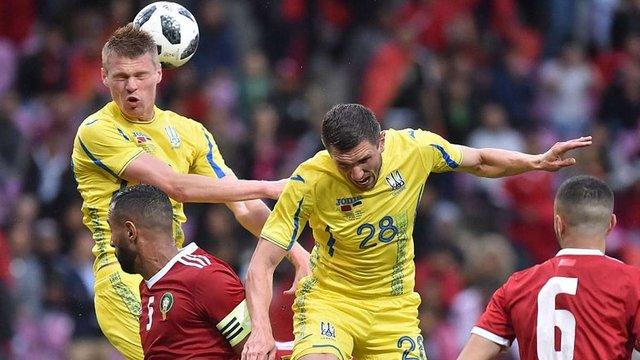 Збірна України зіграла у нічию з Марокко у товариському матчі