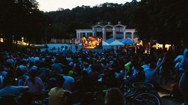 У Парку культури і відпочинку стартував сезон безкоштовних кінопоказів просто неба