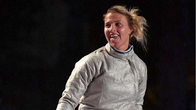 Ольга Харлан здобула «срібло» на етапі Кубка світу з фехтування на шаблях