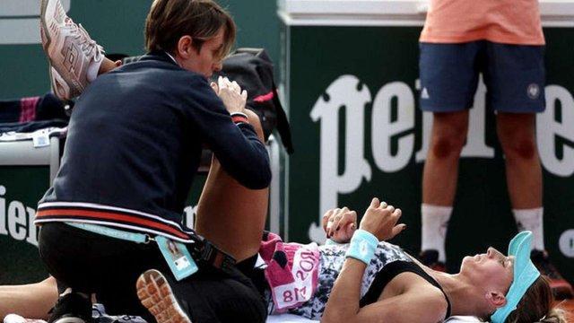 Українка Леся Цуренко відмовилась від матчу на Roland Garros через травму