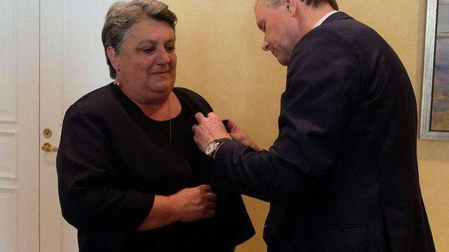 Львівська перекладачка Наталія Іваничук отримала найвищий орден короля Норвегії