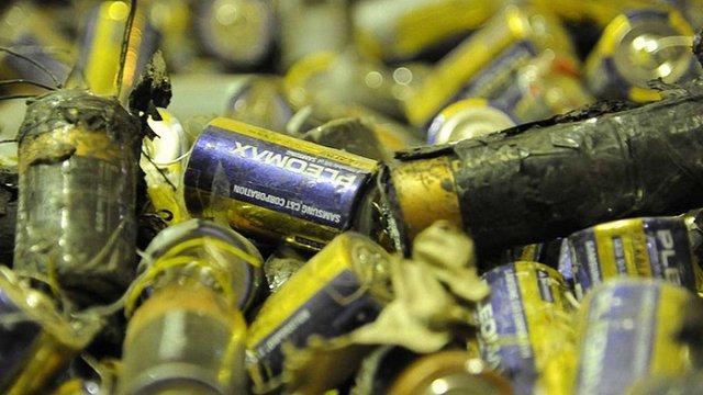 Міністр екології заявив про брак підприємств для належної утилізації батарейок