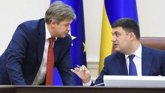 Гройсман підписав подання про відставку міністра фінансів Данилюка
