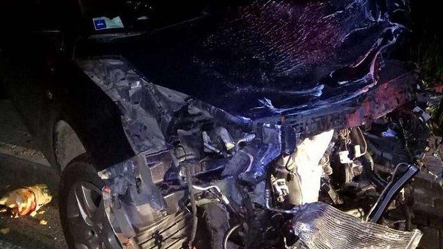 У ДТП під Львовом постраждали п'ятеро людей