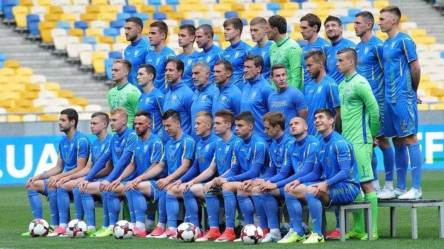 Збірна України опустилася на 35 місце у рейтингу ФІФА