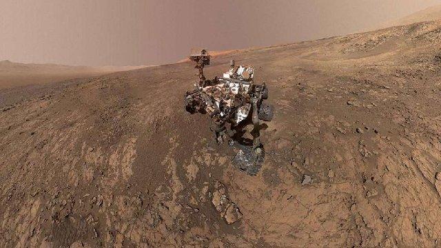 NASA знайшла на Марсі органічну речовину