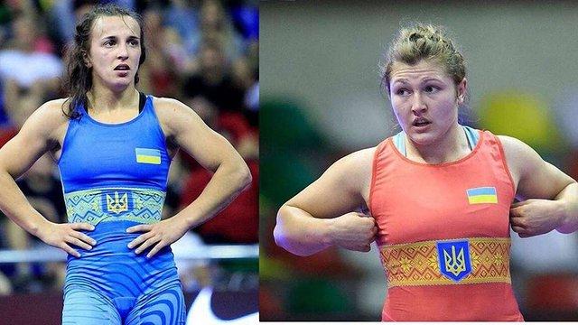 Львівські борчині Оксана Лівач та Анастасія Шустова стали чемпіонками Європи серед молоді