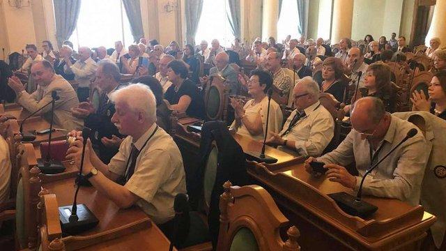 Андрій Садовий закликав зробити звернення усіх ротарійців світу для звільнення Олега Сенцова