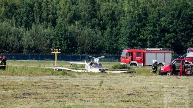 У Польщі розбився легкомоторний літак з депутатом Верховної Ради на борту