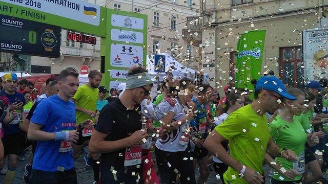 У Львові у марафонському забігу змагається понад 1200 учасників