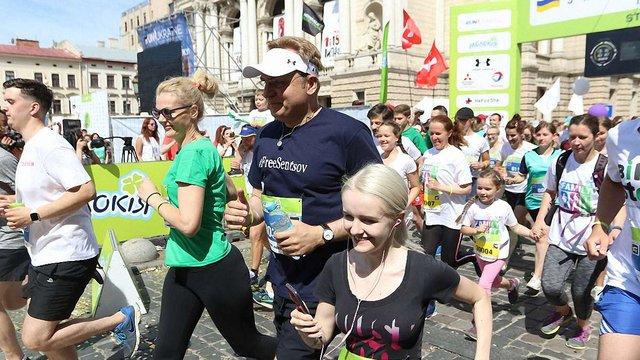 У межах Львівського півмарафону відбувся масовий благодійний забіг