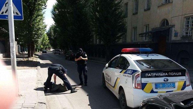 У Львові патрульні вчинили наїзд на пішохода