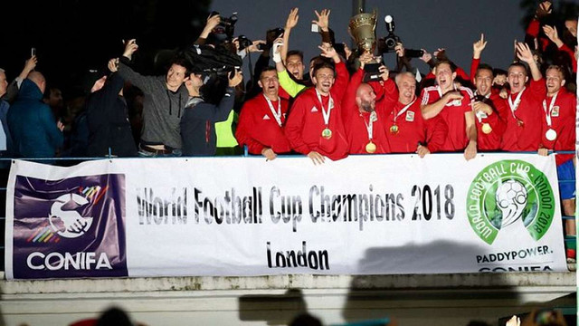 Команда угорців Закарпаття перемогла на сепаратистському чемпіонаті світу з футболу