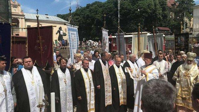 У Львові вшанували пам'ять патріарха УАПЦ Мстислава