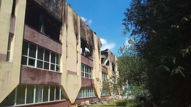 За фактом пожежі у спорткомплексі Міноборони у Львові відкрили кримінальне провадження